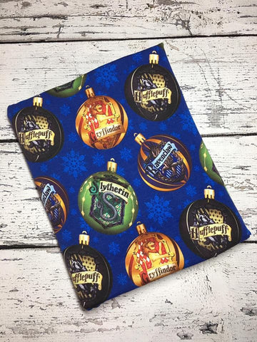 Harry Xmas Blue Ornaments Custom Cotton Lycra