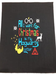 Harry ugly Hogwarts Letter Child Panel Approx. 15x18""