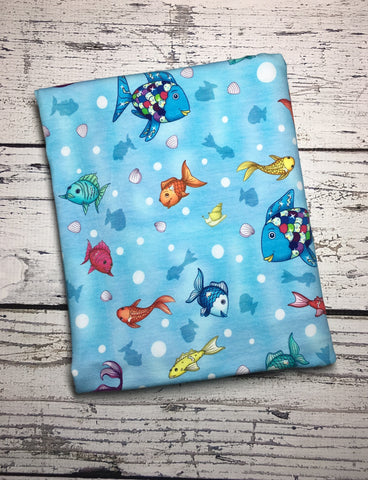 Rainbow Fish custom knit ** Reprint**