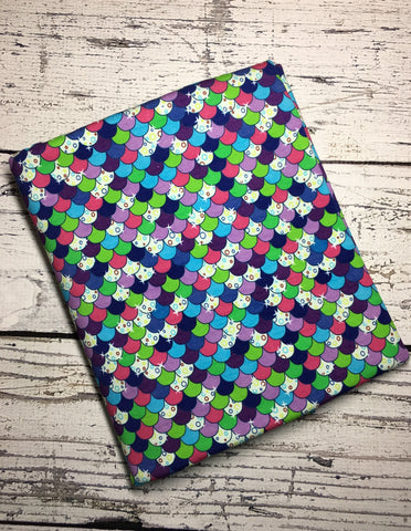 Rainbow Fish Scales custom knit ** Reprint**