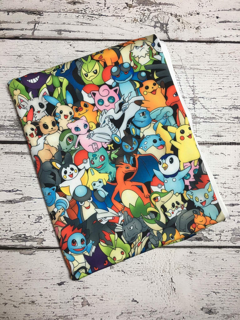 Pokemon collage custom SWIM knit with 50SPF