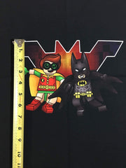 Brick Heroes small custom knit panel approx 16x19