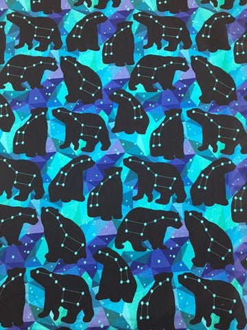 Galaxy bears custom knit reprint