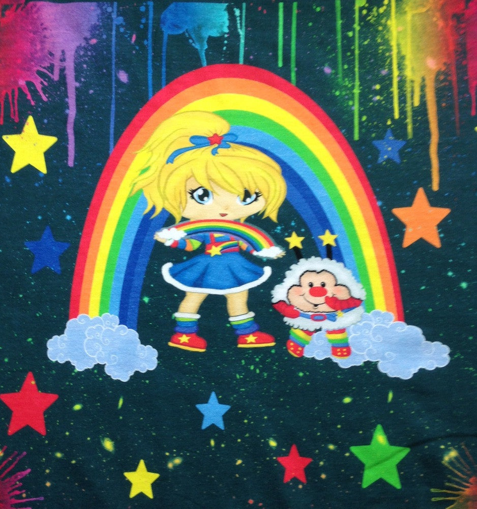Splatter Rainbow Twinkle Panel