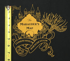 "HP Maps Huff small castle panel approx 15""x17"""