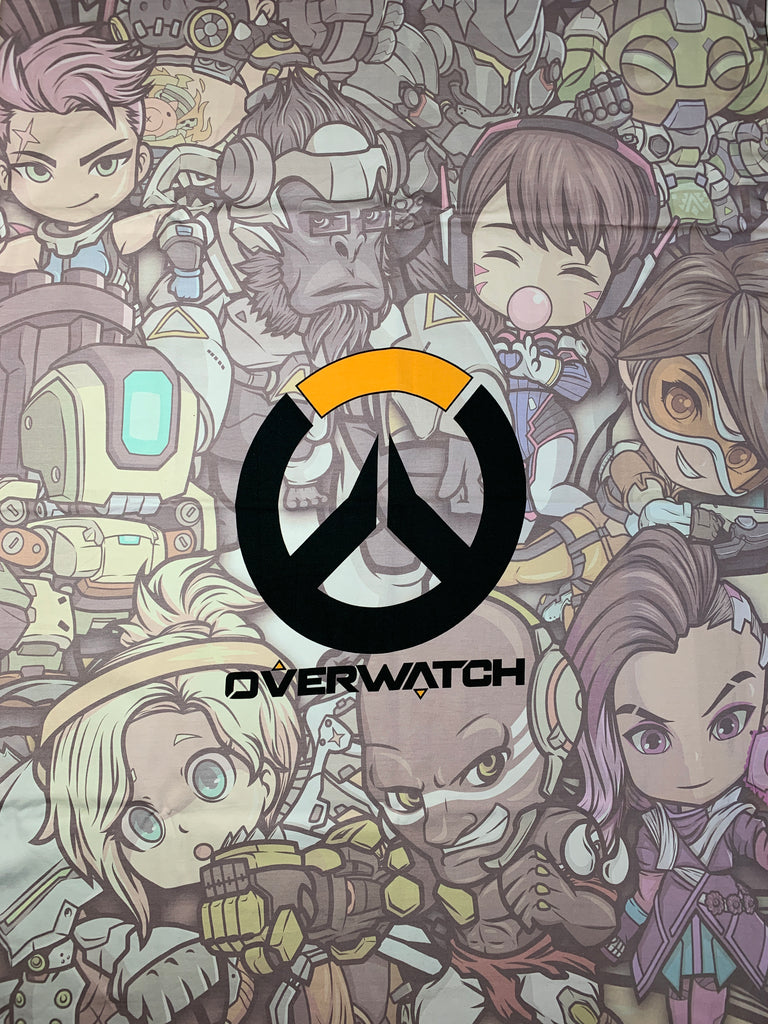 Overwatch character back custom CL FH PNL