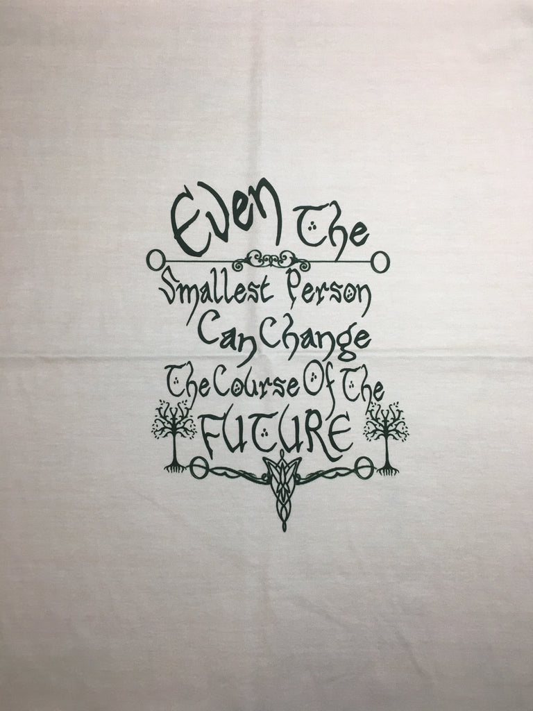"LOTR Even light small custom knit panel approx 16""x19 **"