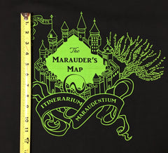 "HP Maps Slytherin Large castle PNL approx. 34""x28"""