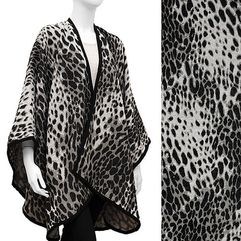 Leopard Pattern Cape
