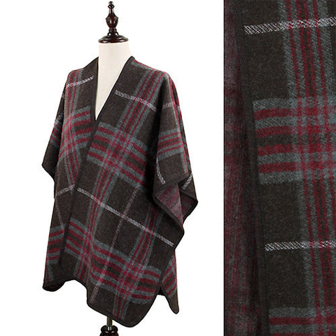 Macintosh Plaid Pattern Cape