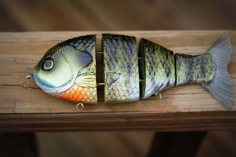 Custom Painted Baits