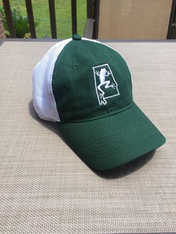 Dark Green Bama Frogs Hat