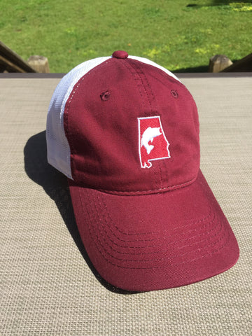 Red Bama Bass Hat
