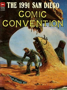 1991 SAN DIEGO COMIC CONVENTION Book (1991) (SHOPWORN) (1)