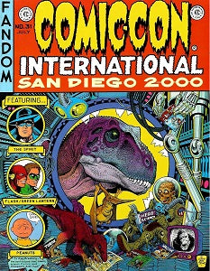 2000 COMIC-CON INTERNATIONAL: San Diego Convention Book (1)