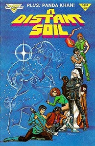 A DISTANT SOIL Vol. 1 #7 (1985) (Colleen Doran)