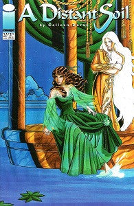 A DISTANT SOIL. Vol. 2 #20 (1997) (Coleen Doran) (DAMAGED, WRINKLED, 99 cents) 1)