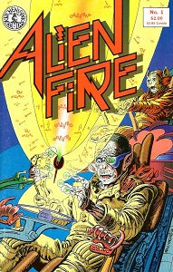 ALIEN FIRE #1 (1987) (Smith & Vincent)