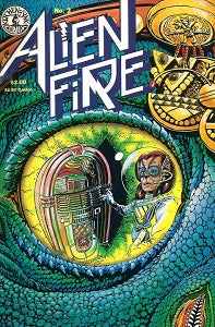 ALIEN FIRE #2 (1987) (Smith & Vincent) (SHOPWORN) (1)