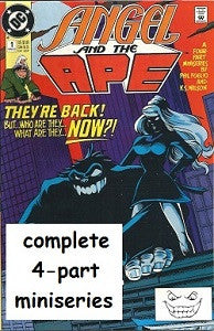 ANGEL AND THE APE #1,2,3,4 Miniseries (1991) (Phil Foglio) (1)