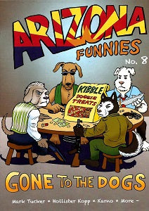ARIZONA FUNNIES. #8 (2018) (Kjartan KARNO Arnorsson and Friends)