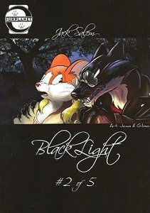 BLACKLIGHT #2 (of 5) (Jack Salem) (2014) (by Roz Gibson)