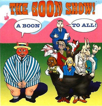 BOON SHOW CD-ROM, The (2009) (Kjartan KARNO Anorsson & Paul Lenoue)
