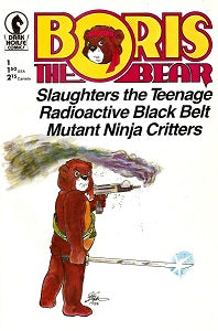 BORIS THE BEAR #1 (1986) (James Dean Smith and others) (1)
