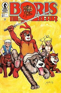 BORIS THE BEAR #7 (1987) (James Dean Smith and others) (1)