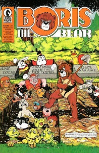 BORIS THE BEAR #8 (1987) (James Dean Smith and others) (1)