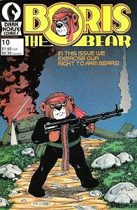 BORIS THE BEAR. #10 (1987) (James Dean Smith) (1)