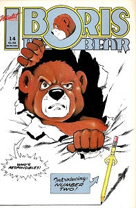 BORIS THE BEAR. #14 (1987) (Jame Dean Smith and others) (1)