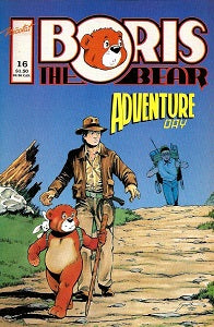 BORIS THE BEAR. #16 (1988) (James Dean Smith) (SHOPWORN) (1)