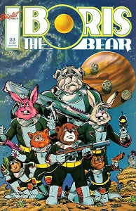 BORIS THE BEAR. #23 (1989) (James Dean Smith and others) (1)