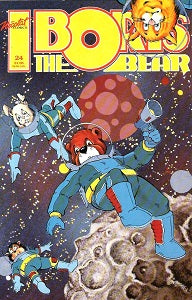 BORIS THE BEAR. #24 (1989) (James Dean Smith and others)