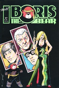 BORIS THE BEAR. #27 (1990) (James Dean Smith and others) (1)