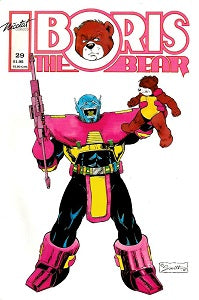 BORIS THE BEAR. #29 (1991) (James Dean Smith and others) (1)