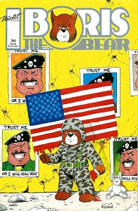 BORIS THE BEAR. #30 (1991) (James Dean Smith and others) (1)