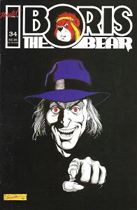 BORIS THE BEAR. #34 (1991) (James Dean Smith and others) (1)