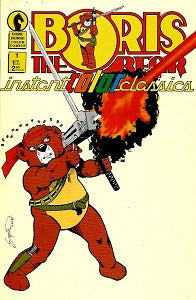 BORIS THE BEAR. INSTANT COLOR CLASSICS #1 (1987) (james Dean Smith and others)