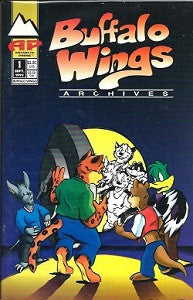 BUFFALO WINGS #1 (comic) (1993) (John Nunnemacher)
