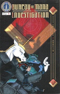 BUREAU OF MANA INVESTIGATION. #1 (of 8) (2002) (Hanson & Garcia)
