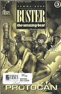 BUSTER THE AMAZING BEAR.. #3 Ashcan (1994) (digest) (Tommy Yune) (1)