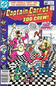 CAPTAIN CARROT AND HIS AMAZING ZOO CREW! #8 (1982)