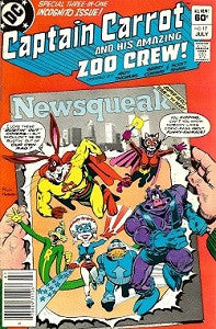 CAPTAIN CARROT AND HIS AMAZING ZOO CREW!. #17 (1983) (1)