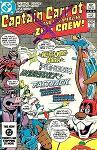 CAPTAIN CARROT AND HIS AMAZING ZOO CREW!. #18 (1983) (1)