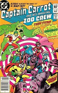 CAPTAIN CARROT AND HIS AMAZING ZOO CREW!. #20 (1983) (1)