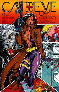 CATSEYE AGENCY #2 (of 3) (1992 (Lomax & Frydendall) (1)