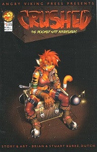 CRUSHED: THE DOOMED KITTY ADVENTURES #1 (2008) (Bros. Grinn, Dutch) (1)