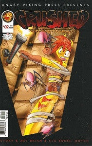 CRUSHED: THE DOOMED KITTY ADVENTURES #2 (2008) (Bros. Grinn, Dutch)
